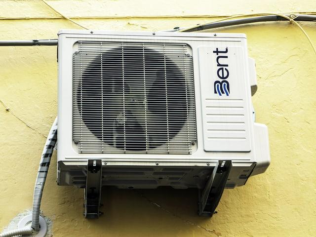 Klimaanlage an Aussenwand