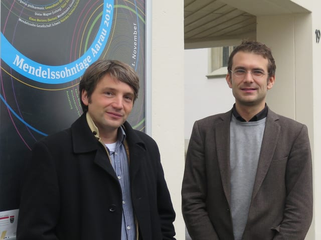 Dieter Wagner und Christian Weidmann