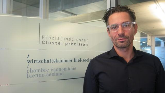 Gilbert Hürsch, Geschäftsführer der Wirtschaftskammer Biel-Seeland