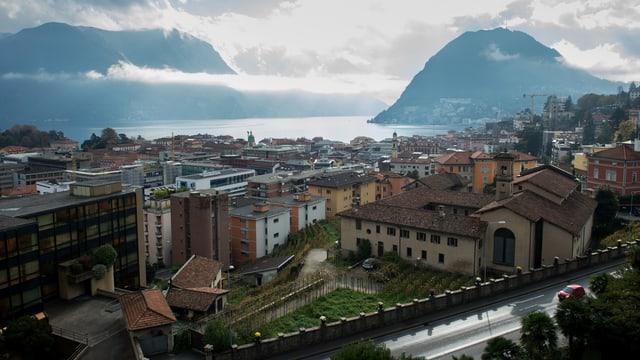 Blick über Lugano