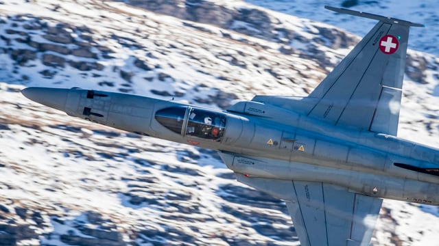 Tiger F5 Kampfjet