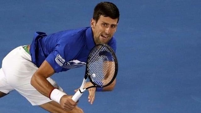 Djokovic sichert sich den 1. Satz