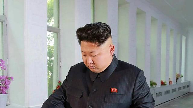 il dictatur Kim Jong Un