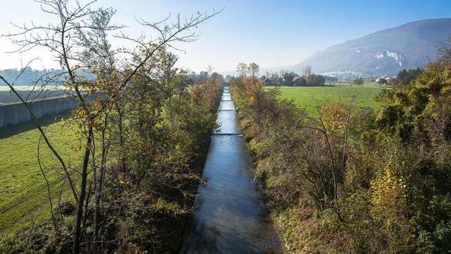 Kanalisierter Fluss