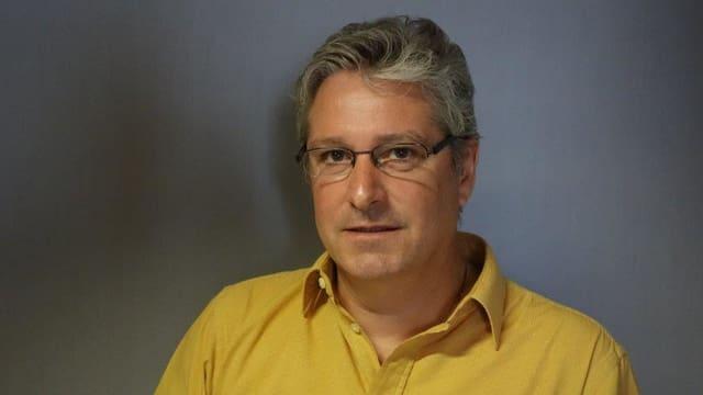 Gion Cola il directur dal Center da Sanadad Savognin SA.