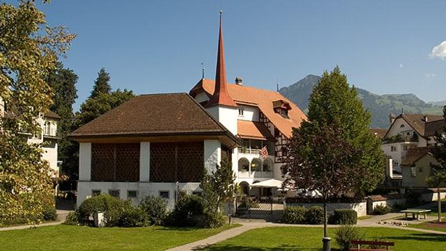Das 600 Jahre alte Herrenhaus Höfli im Zentrum von Stans.