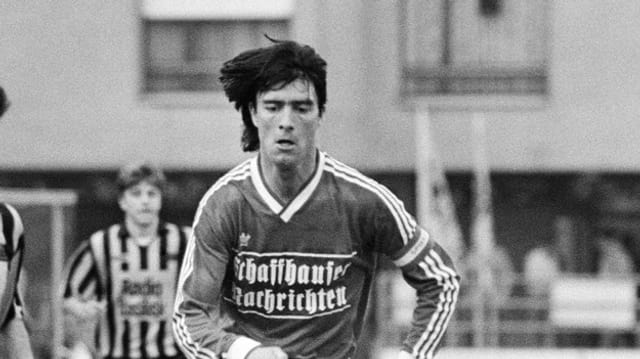 Joachim Löw als junger Fussballspieler beim FC Schaffhausen.
