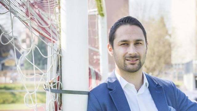 Gabriel Macedo (29) von der FDP ist der jüngste Kandidat für das Stadtpräsidium in Amriswil.