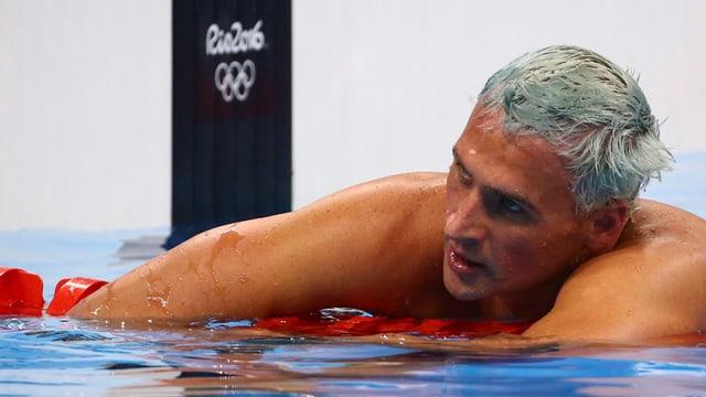 Ryan Lochte im Schwimmbecken