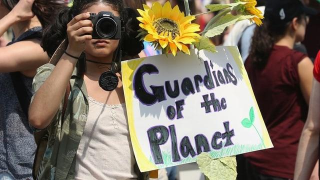 Proteste für Klimaschutz