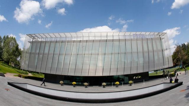 Gebäude der Fifa in Zürich von aussen.