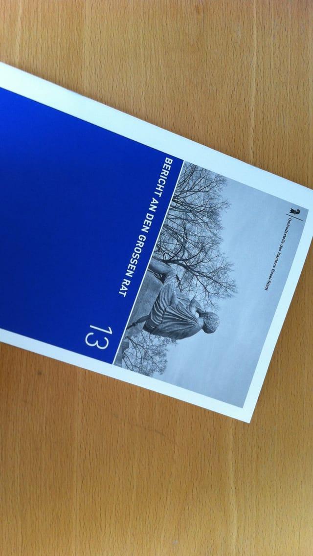 Der Jahresbericht 2013 der Basler Ombudsstelle.