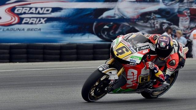 Stefan Bradl holte sich in Laguna Seca die erste Pole Position seiner Karriere.