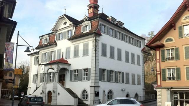 Das Rathaus in Sarnen.