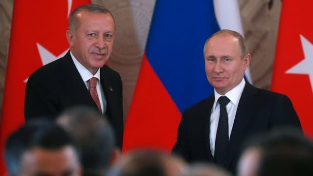 Erdogan und Putin.