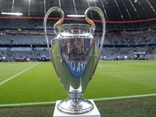 Pokal der Champions League.