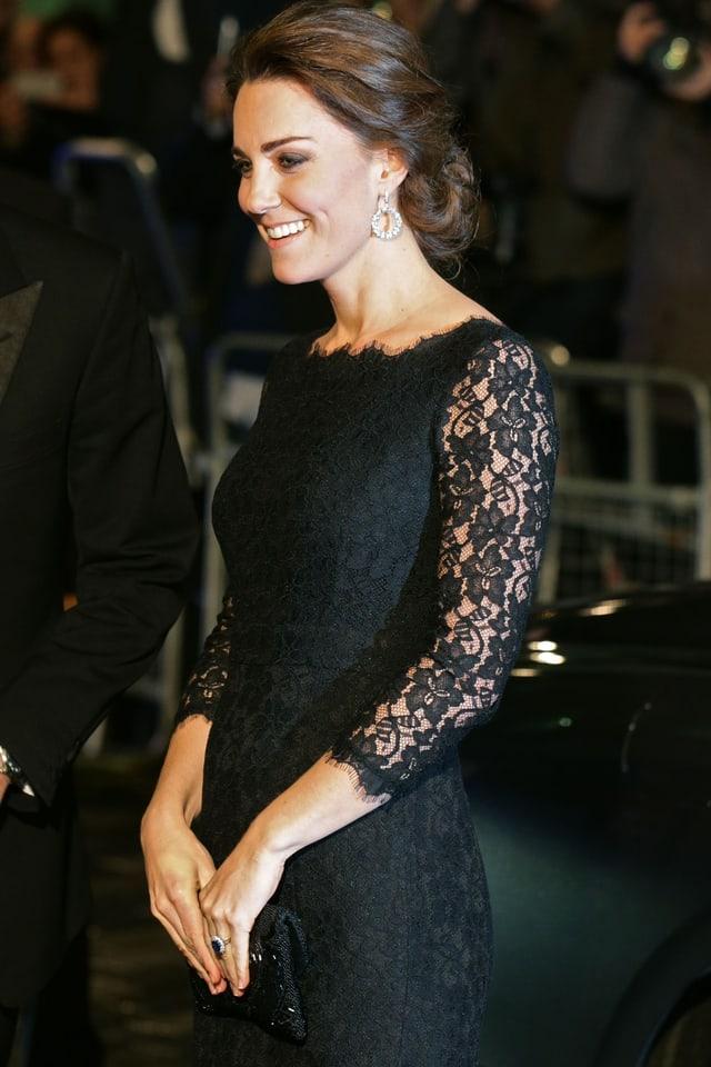 Herzogin Kate an einem Galaevent in London.