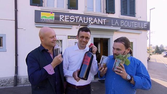 Video «Zürichsee – Tag 4 – Restaurant La Bouteille, Stäfa» abspielen
