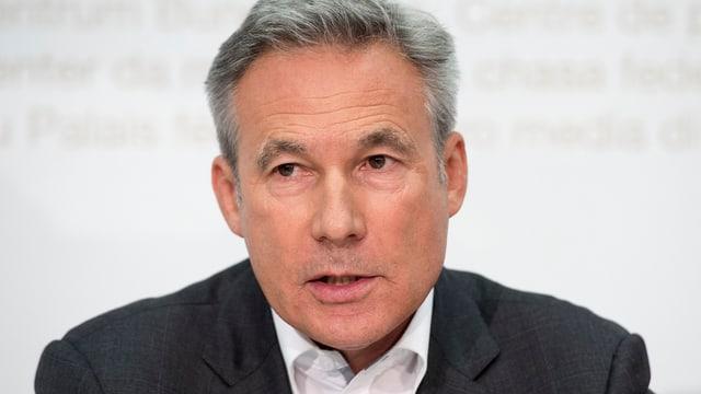 SVP-Fraktionschef Adrian Amstutz.