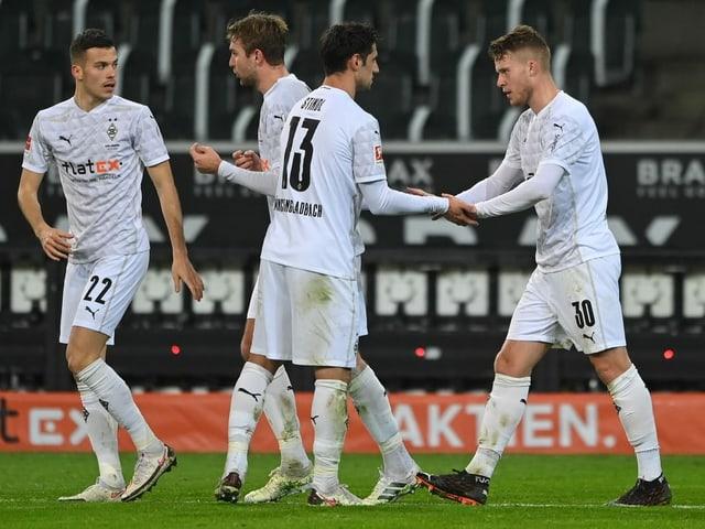 Die Spieler von Borussia Mönchengladbach reisen für das «Heimspiel» gegen Manchester City nach Budapest.
