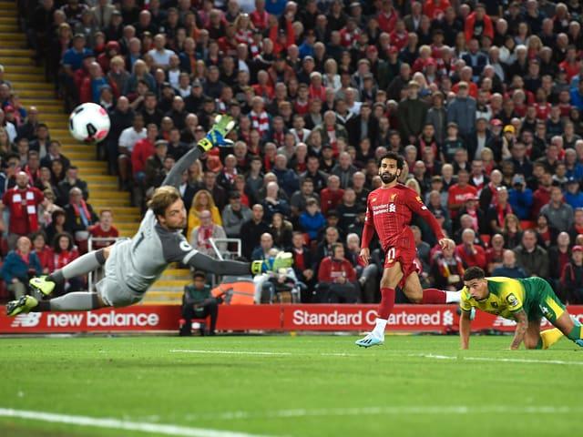 Salah erzielt das .2:0