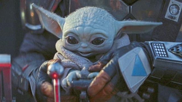 Ziemlich niedlich, dieser junge Yoda.