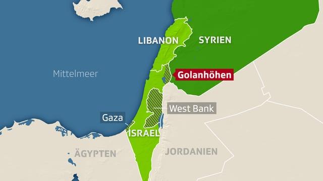 Die Golanhöhen: Landstrich ohne Frieden