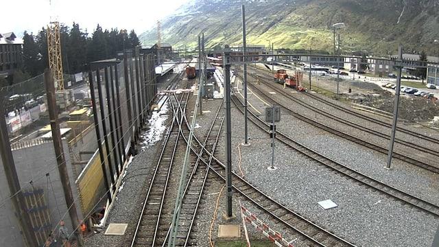 Webcam da la staziun dad Andermatt