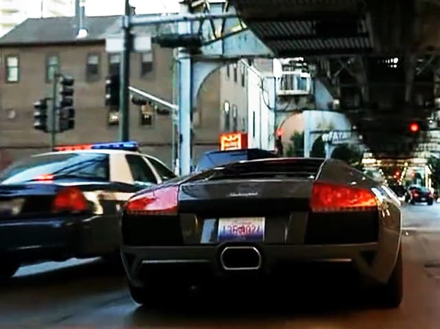 LP640 Roadster in «Batman Begins», «The Dark Knight» (2005/2008)