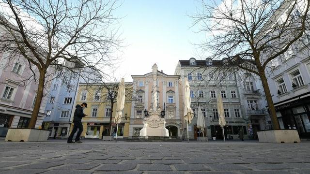 Il center tut vid da la citad St. Pölten.