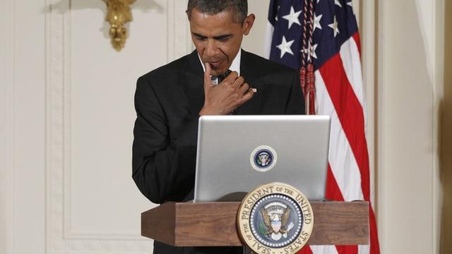 La communicaziun da mail da Barack Obama n'è para nagin secret.