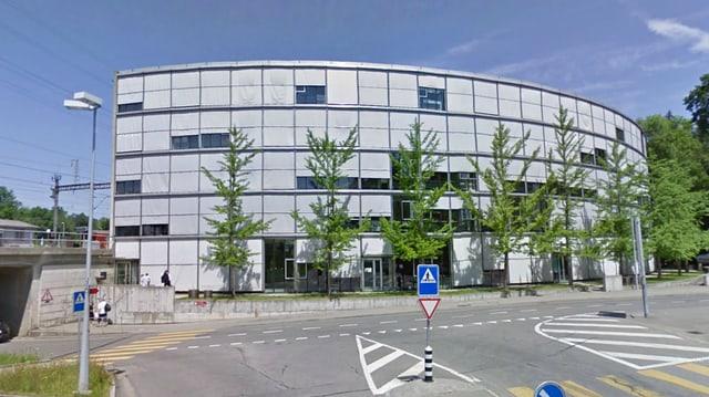 Das Gebäude des Solarcenters Muntwyler in Zollikofen.