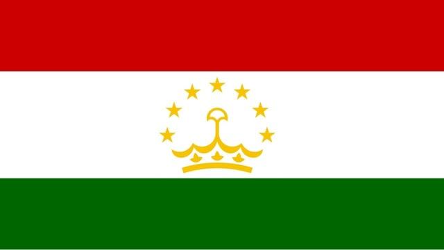 Flage des Landes Tadschikistan