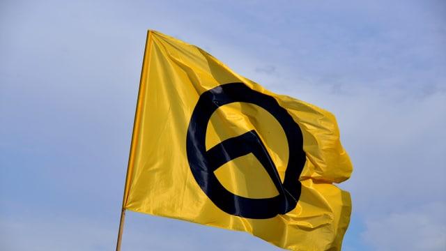 Fahne von Identitären.