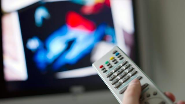 Telecomando e televisiun