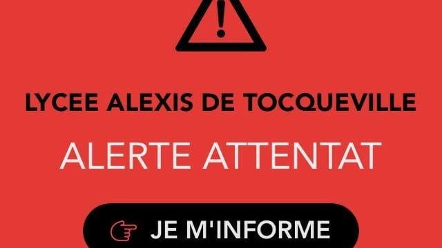 Eine Warnung der Polizei.