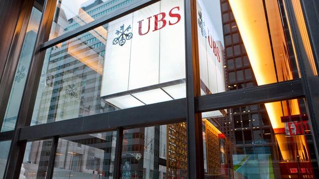 Purtret d'il logo da la UBS.