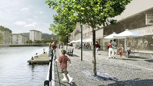 Vision eines autofreien St.Karli-Quais