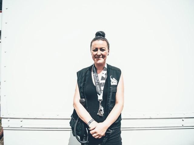 Porträt von Daniela Supersaxo.