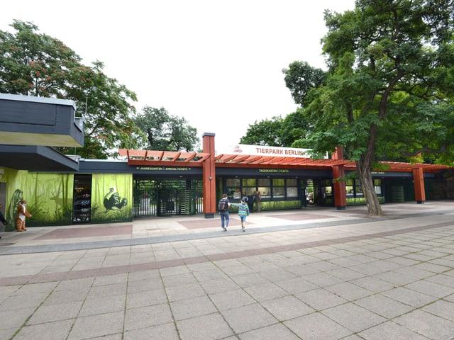 Der Tierpark Berlin ist mit 160 Hektar Fläche der größte Landschaftstiergarten in Europa.