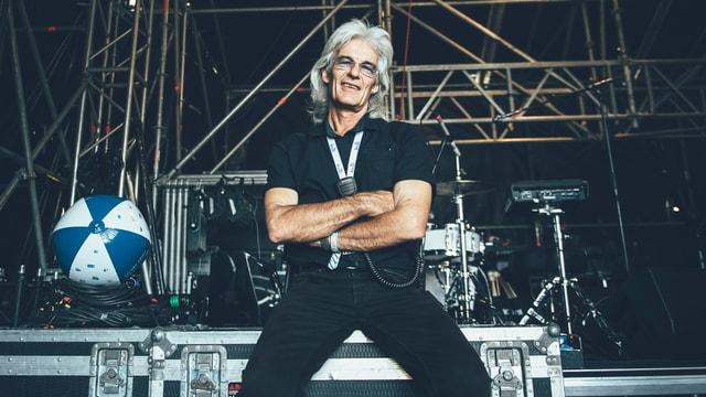 Chris Götz (69) ist seit 24 Jahren Stage Manager am Heitere Openair.