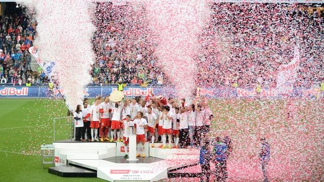 Salzburg feiert Meistertitel