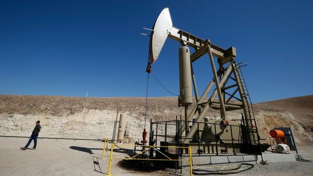 Ölpumpe in Kalifornien