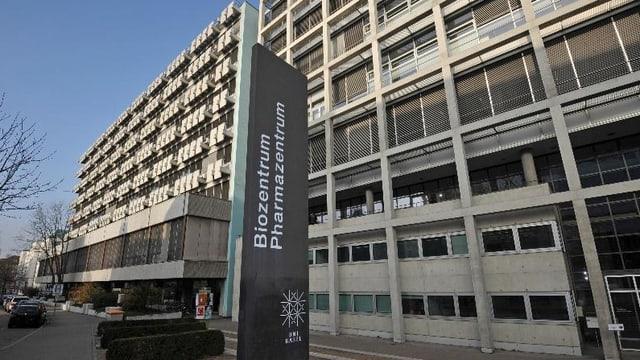 Das Biozentrum der Universität Basel.
