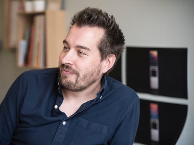Raphael Oberholzer in seinem Büro in Solothurn.