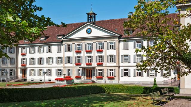 Aussenansicht der Klinik Schlosstal