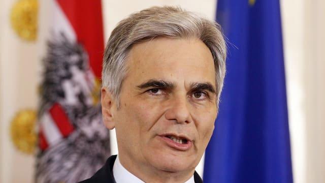 Il chancelier austriac Werner Faymann (SPÖ)