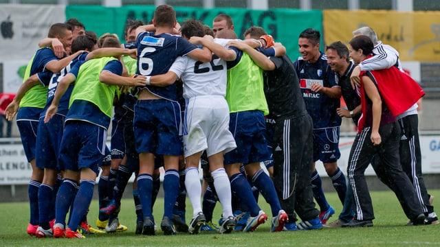 Hat der FC Wohlen auch nach der Cup-Partie gegen Thun Grund zum Jubeln?