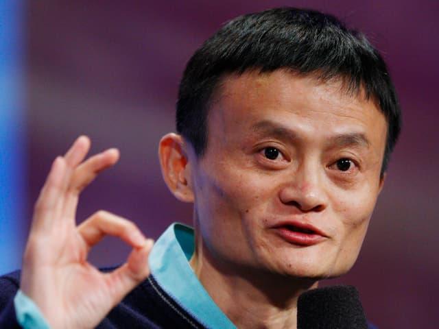 Portrait Jack Ma