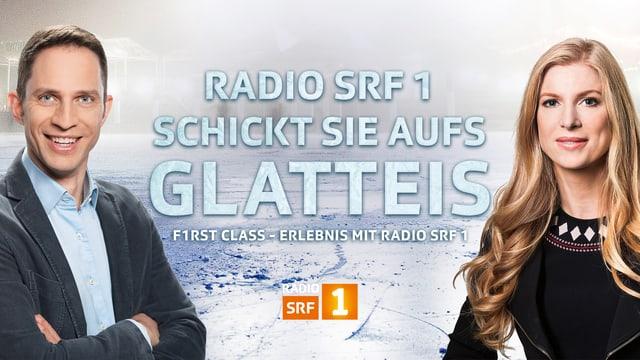 Mit Radio SRF 1 ans «Art on Ice»
